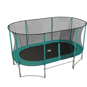 Cover your trampoline in the garden